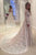 Fashion White A-line Long Sleeves Open Back Lace Wedding Dress Bridal Gown - EVERISA
