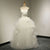 White Sweetheart Sleeveless Cheap Bridal Gown A Line Wedding Dresses - EVERISA