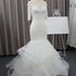 Off Shoulder Half Sleeves Mermaid Wedding Dresses Long Bridal Gown