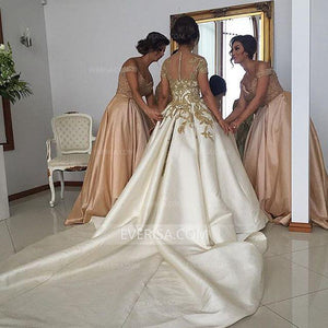 Gorgeous Pearl Pink Floor-Length Satin Bridesmaid Dresses Cheap Prom dress