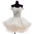 Off Shoulder A Line Sleeveless Short Prom Dresses Affordable Homecoming Dresses
