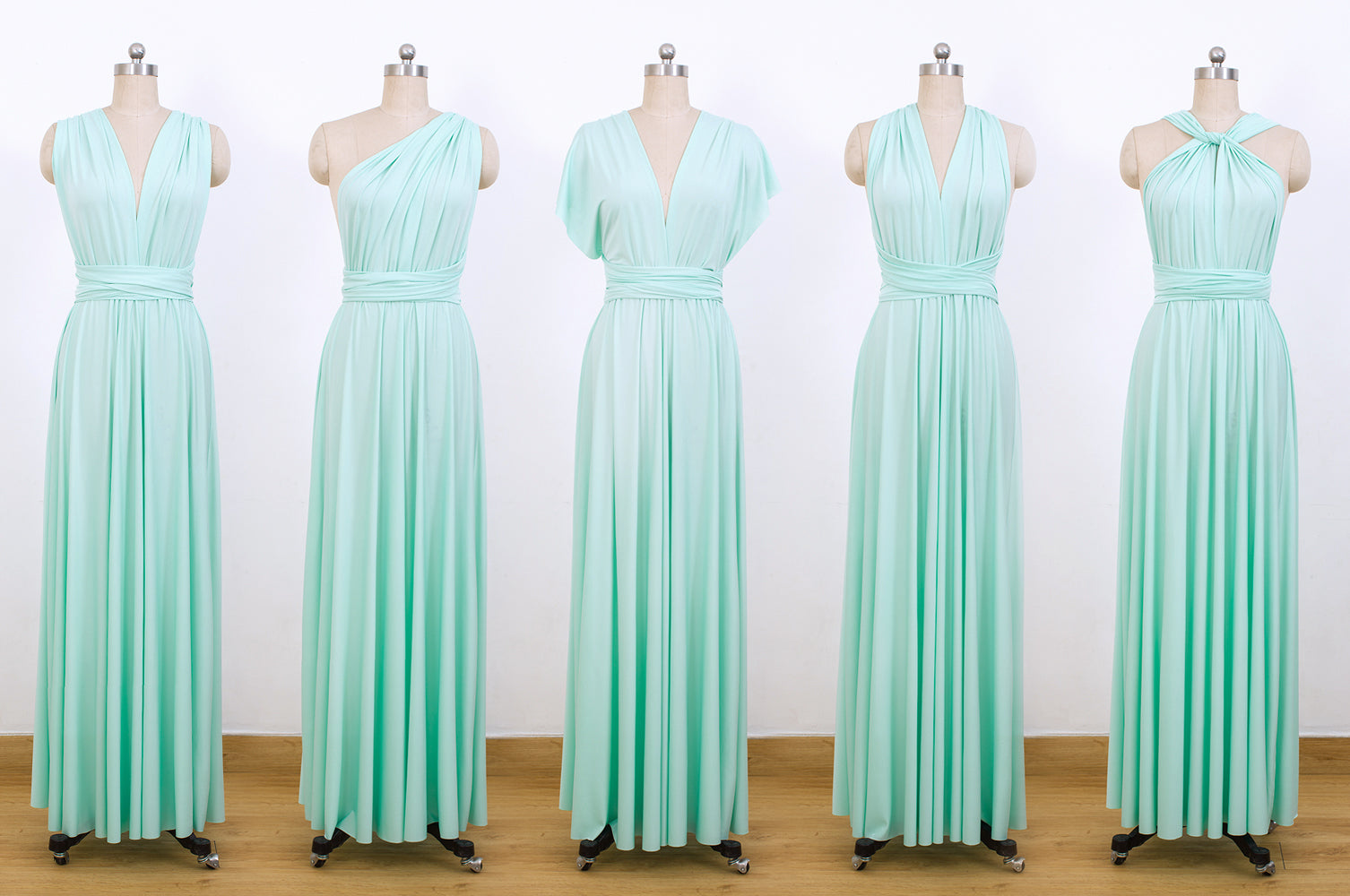 d5797326bf Mint Green Infinity Dresses