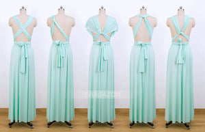 Mint Green Infinity Dresses,Multiway Convertible dresses
