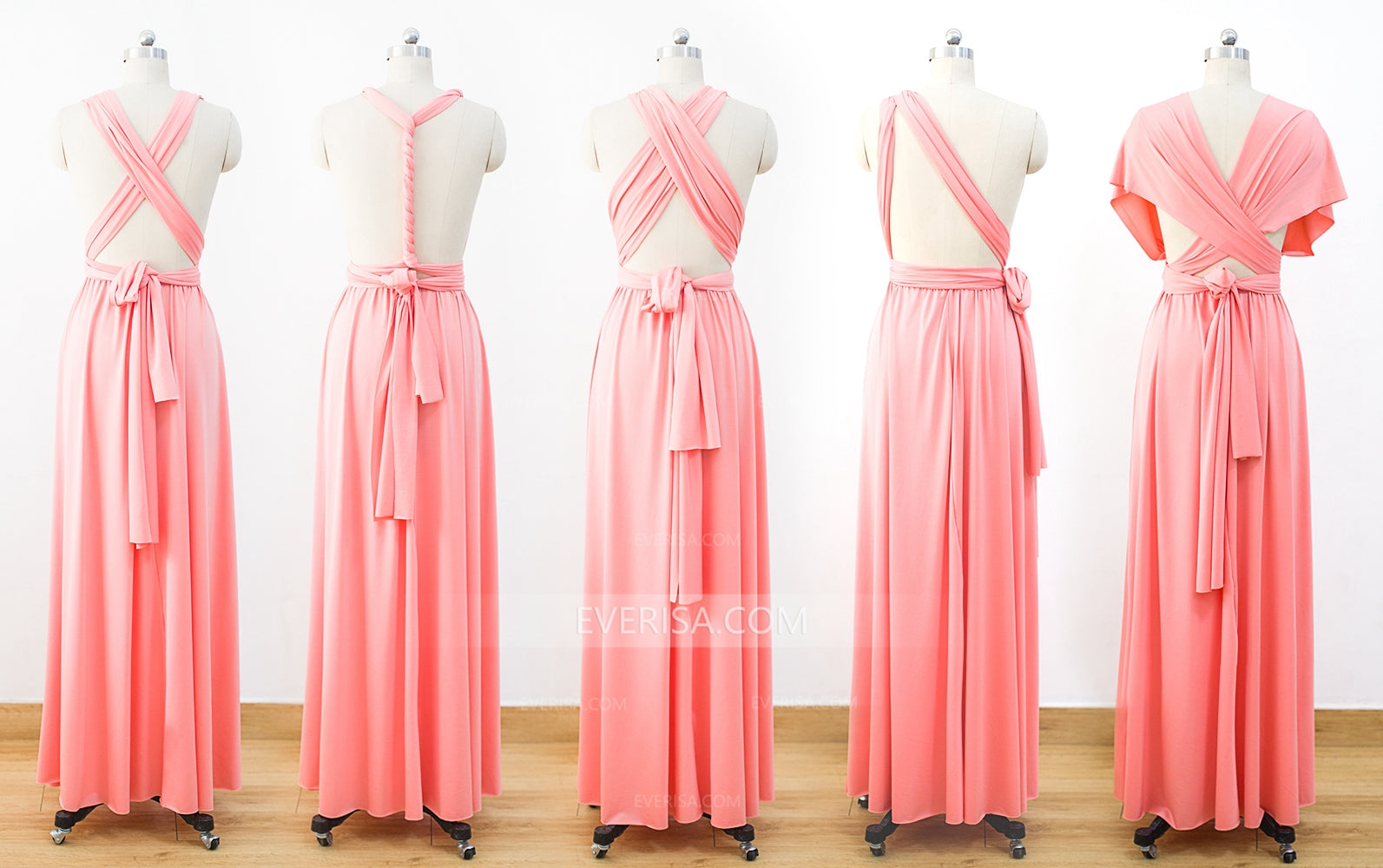 Coral Infinity Dress