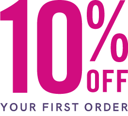 Shop 10% off your first order from Bantam vape, white letters.