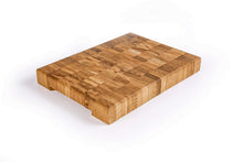 Load image into Gallery viewer, Solid Oak End Grain Chopping Board