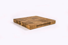 Load image into Gallery viewer, Solid Oak Trivet / Small End Grain Chopping Board