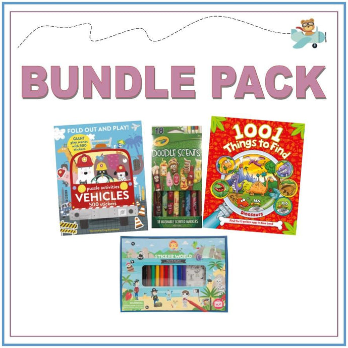 Introducing Plane Play Packs & Bundles