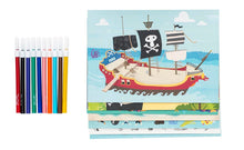 Load image into Gallery viewer, Tiger Tribe - Sticker World - Pirate Island