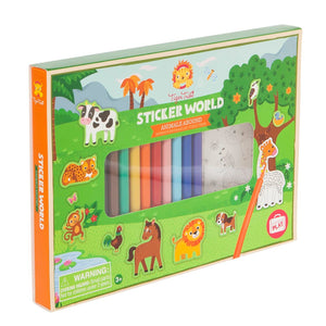 Tiger Tribe - Sticker World - Animals Abound