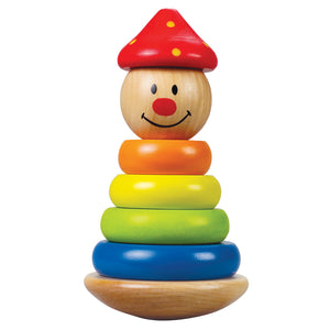 Hape - Stack and Swivel Clown