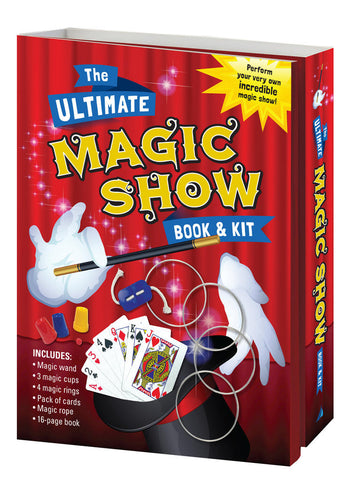 Lake Press - The ultimate magic show book and kit