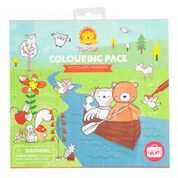 Tiger Tribe - Colouring Pack Woodland Friends