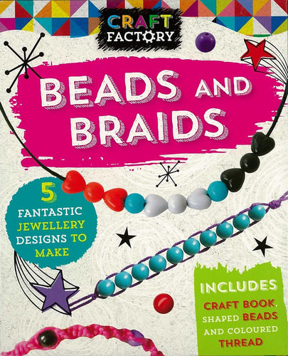 Beads and braids - Craft factory boxset