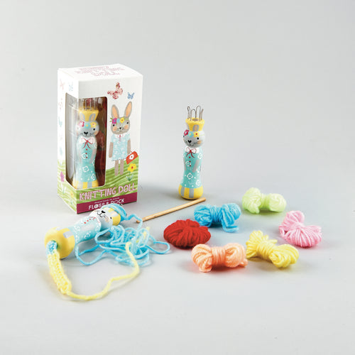 Floss & Rock Knitting doll - Bunny