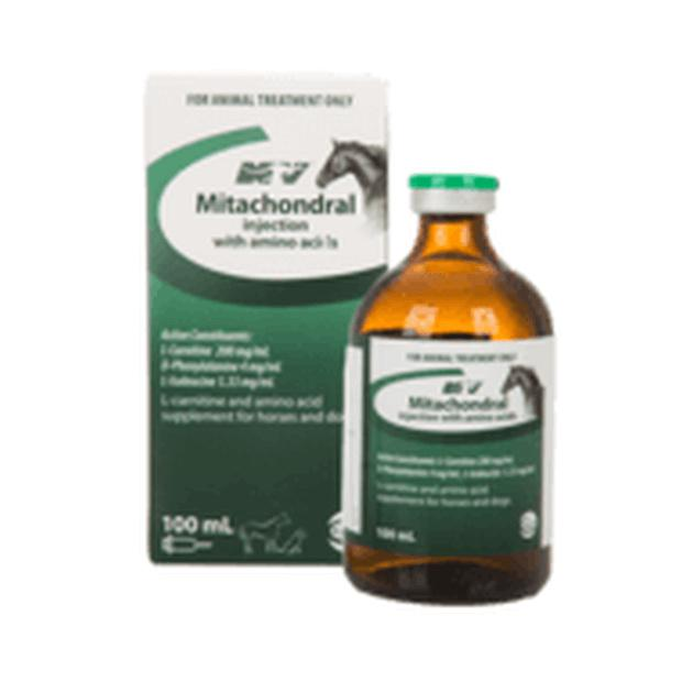 Mitachondral Injection with Amino Acids 100ml - Epic Pet