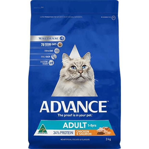 Advance Adult Dry Cat Food Chicken & Salmon - Epic Pet