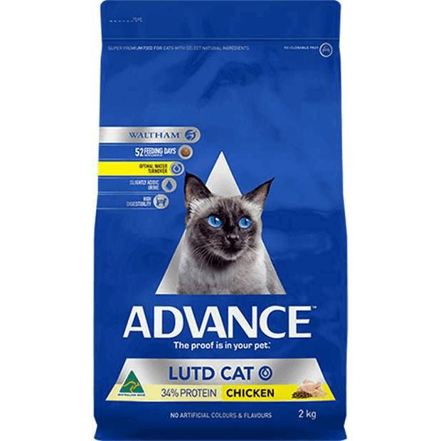 Advance LUTD Urinary Dry Cat Food Chicken 2kg - Epic Pet