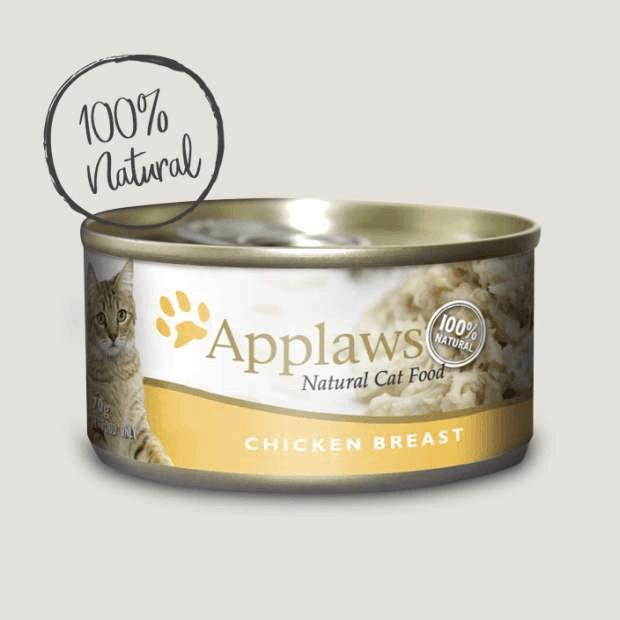 Applaws Wet Cat Food Chicken Breast 70g Tin x 24 - Epic Pet