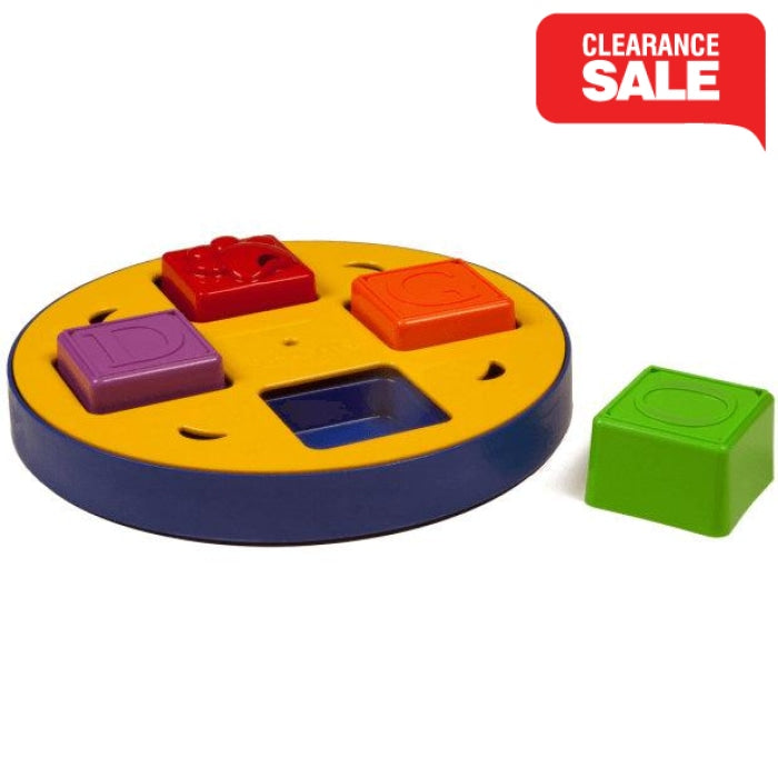Doggy Blocks Spinner Dog Puzzle Toy - Epic Pet