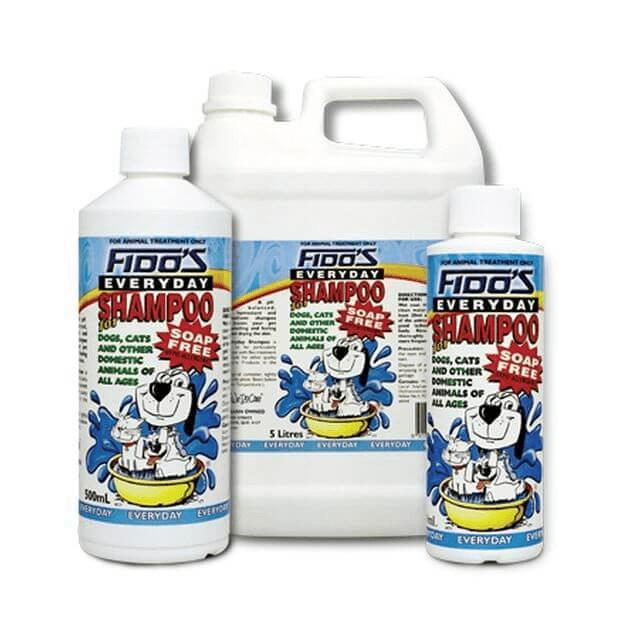 Fidos Everyday Soap Free Shampoo for Dogs & Cats - Epic Pet