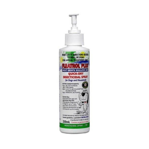 Fidos Fleatrol Plus Flea Spray for Dogs & The House - Epic Pet