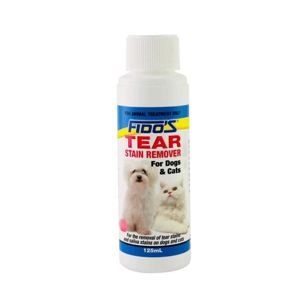Fidos Dog & Puppy Tear Stain Remover 125ml - Epic Pet