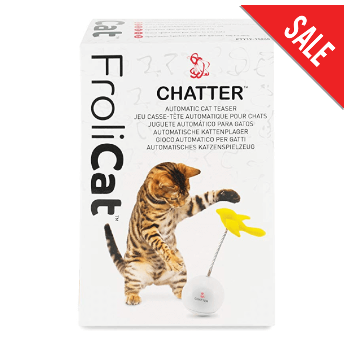 Frolicat Chatter Automatic Cat Teaser Toy - Epic Pet