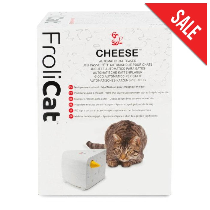 Frolicat Cheese Automatic Cat Teaser Toy - Epic Pet