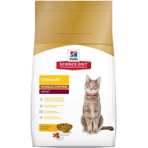 Hills Science Diet Adult Cat Food Urinary & Hairball Control - Epic Pet