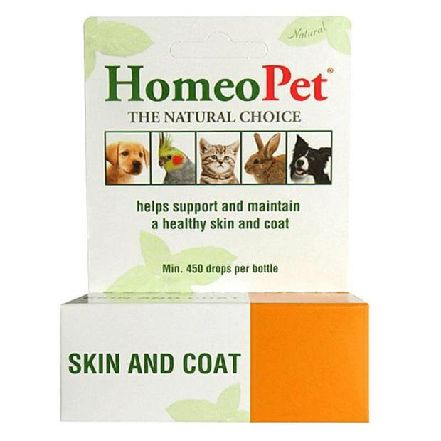 HomeoPet Skin and Coat 15ml - Epic Pet
