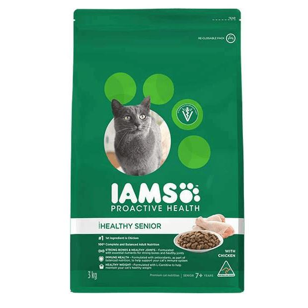 Iams Proactive Health Mature/Senior Cat Food with Chicken - Epic Pet