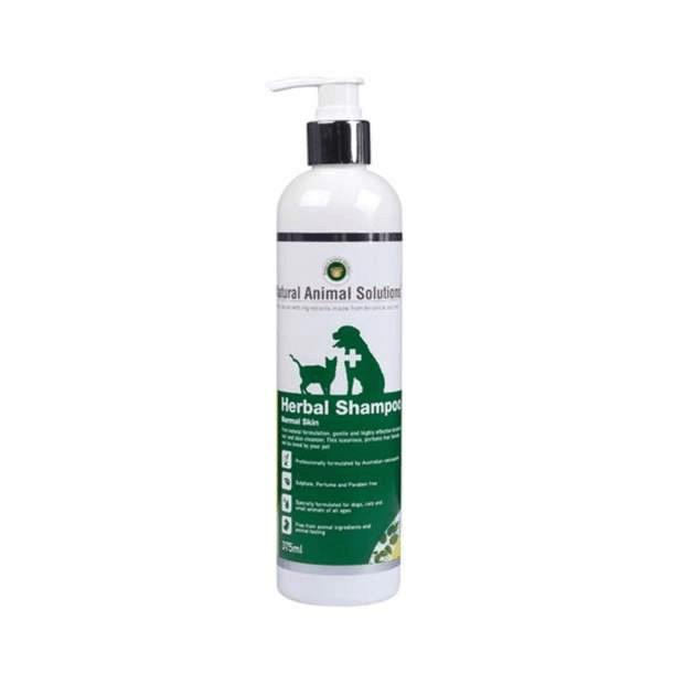 Natural Animal Solutions Normal Herbal Shampoo 375ml - Epic Pet