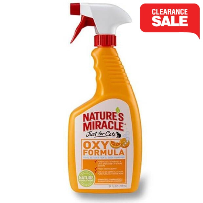 Natures Miracle Cat Orange Stain & Odour Remover 709ml - Epic Pet