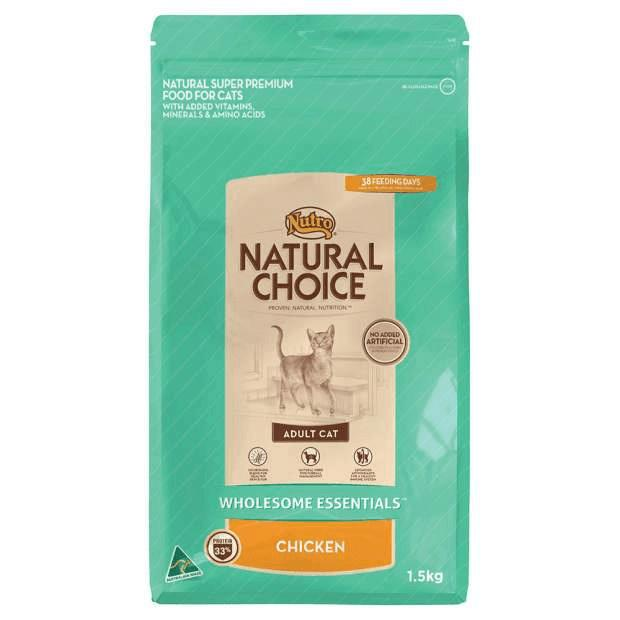 Nutro Natural Choice Wholesome Essentials Adult Cat Chicken - Epic Pet