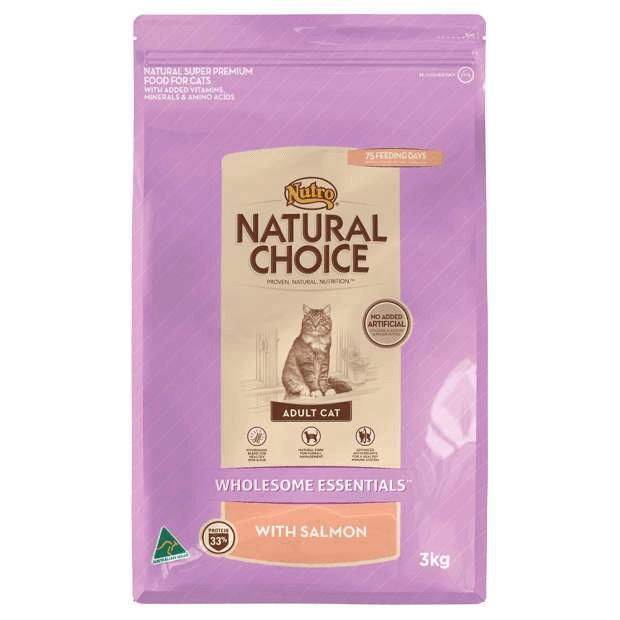 Nutro Natural Choice Wholesome Essentials Adult Cat Salmon - Epic Pet