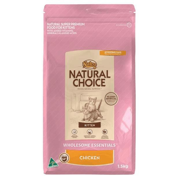 Nutro Natural Choice Wholesome Essentials Kitten Chicken - Epic Pet