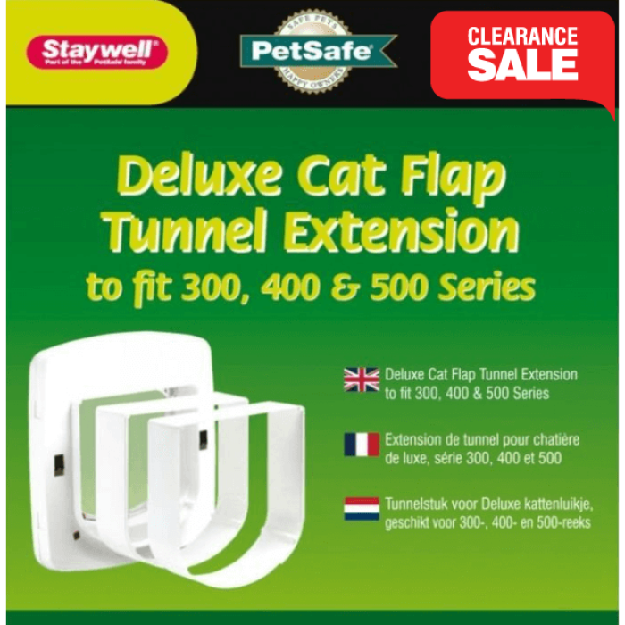 Petsafe Staywell Deluxe Cat Flap Tunnel Extension for 300, 400, 500 series - Epic Pet