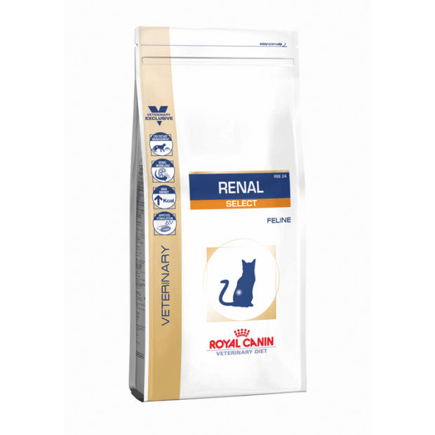 Royal Canin Veterinary Cat Dry Food Renal Select 2kg - Epic Pet
