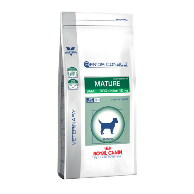 Royal Canin Veterinary Dry Dog Food Senior Consult Mature Small Breed 3.5kg - Epic Pet