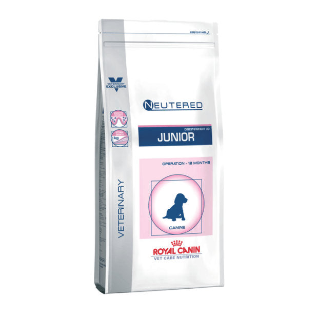Royal Canin Veterinary Dry Dog Food Neutered Junior Medium Breed - Epic Pet