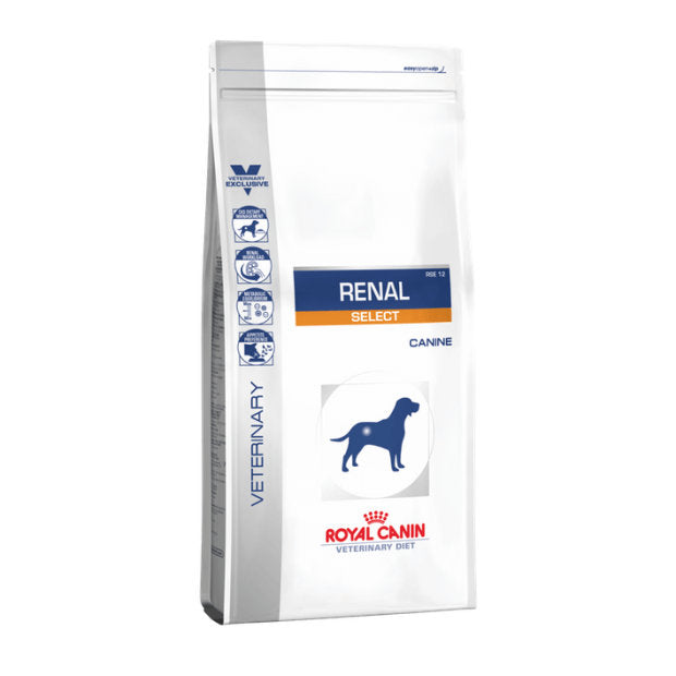 Royal Canin Veterinary Dry Dog Food Renal Select 2kg - Epic Pet