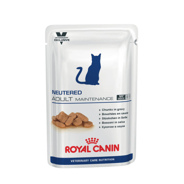 Royal Canin Veterinary Wet Cat Food Neutered Adult Maintenance 12 x 100g - Epic Pet