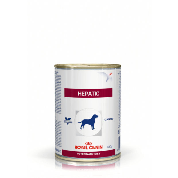 Royal Canin Veterinary Wet Dog Food Hepatic 12 x 420g - Epic Pet