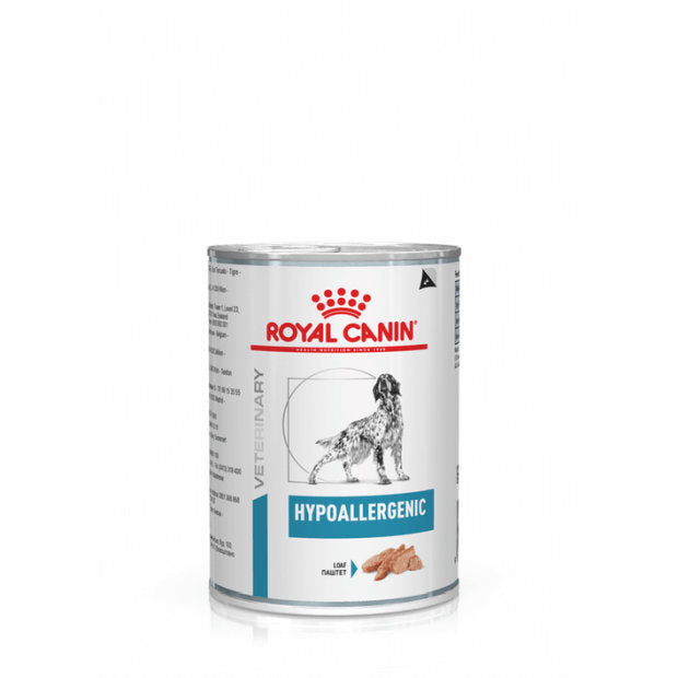 Royal Canin Veterinary Wet Dog Food Hypoallergenic 12 x 400g - Epic Pet