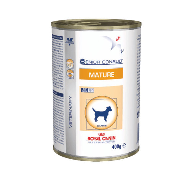 Royal Canin Veterinary Wet Dog Food Mature Senior 12 x 400g - Epic Pet