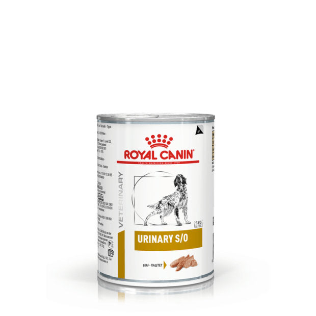 Royal Canin Veterinary Wet Dog Food Urinary S/O 12 x 410g - Epic Pet
