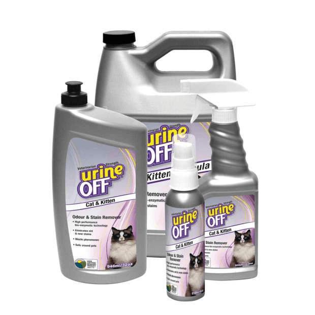 Urine Off Cat & Kitten Spray Formula - Epic Pet