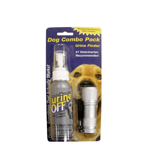 Urine Off Dog 118ml with UV Mini LED Black Light Urine Finder - Epic Pet