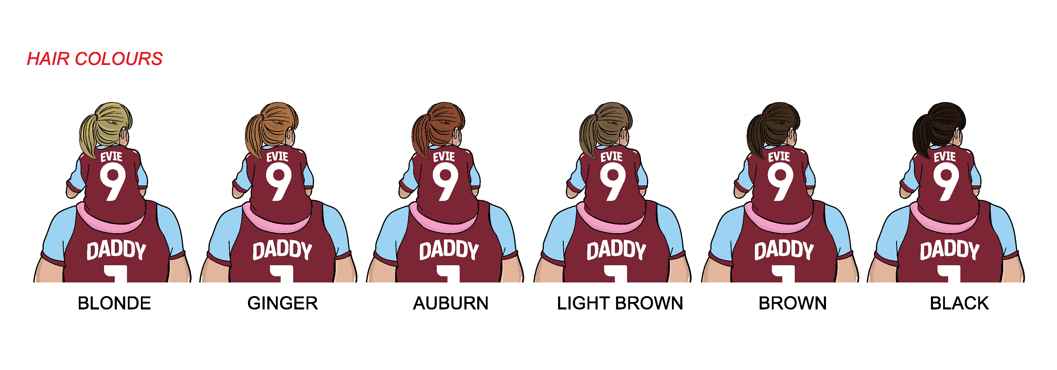 BURNLEY Dad and lass